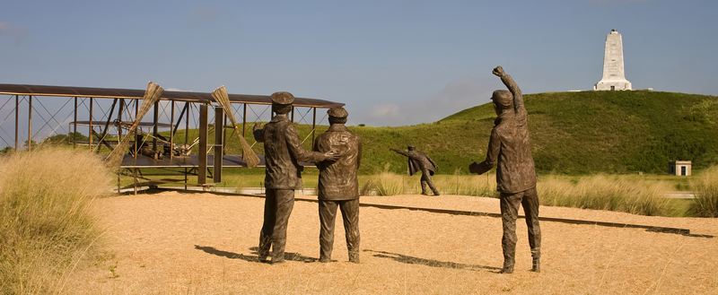 Attractions In The Outer Banks - wright brothers