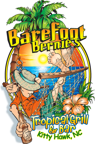 kitty hawk restaurants - barefoot bernies