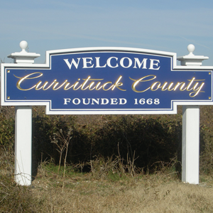shopping in the outer banks - currituck