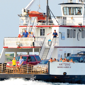 outer banks information - ferry schedule