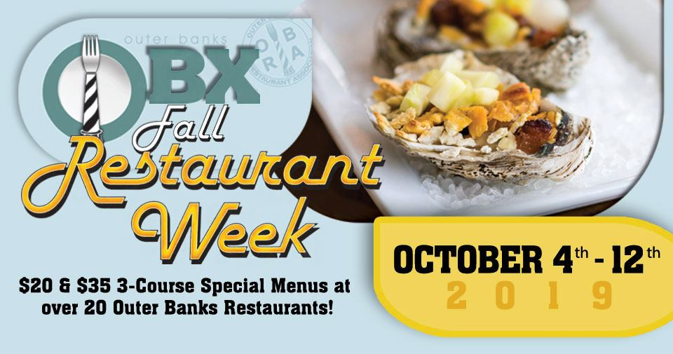 2019 Fall Obx Restaurant Week Outer Banks Guides